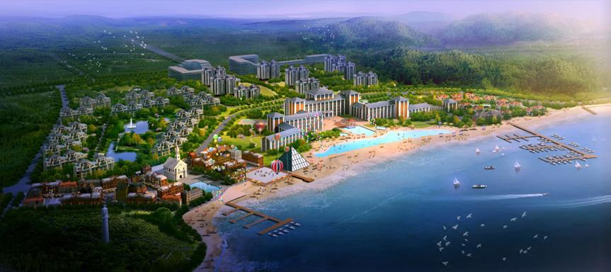 长海县大长山岛中央度假区概念性规划