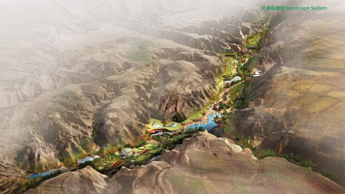 项目规模:75公顷 项目周期:2012年 项目位置:山西晋中榆次 项目投资:2.98亿元 委托单位:山西和丰园农业发展有限公司 规划理念: 规划综合考虑基地资源、周边市场、产品组合等因素,提出红与绿,大与小,动与静的发展战略。 规划充分利用基地距太原仅十五分钟车程的区位优势,把握太榆同城化发展的良好契机,以绿色生态资源为基础,以红色收藏为切入点,为生态农业项目注入文化灵魂,将旅游与农业、文化与生态、传统与时尚有机结合,打造集生态农业、文化体验、特色餐饮、商务会议、休闲度假等功