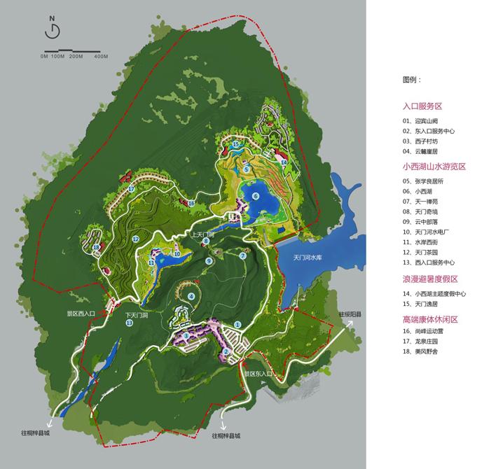 贵州桐梓县小西湖旅游区旅游总体规划