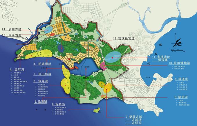 城区管理委员会地图